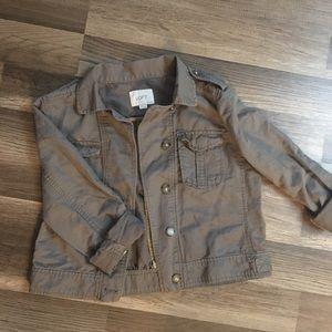 Loft Petite Small utility jacket